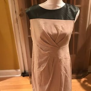 Chicos Two Toned Dress with Slit US 0